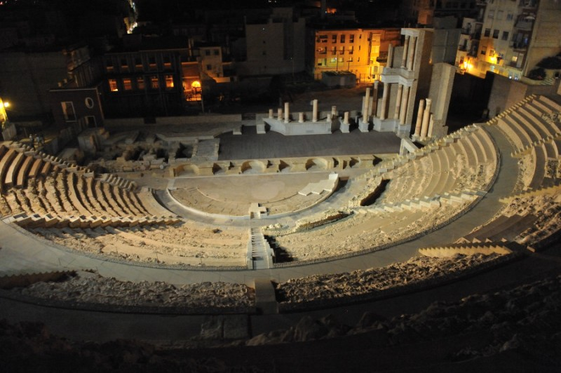 25th August: Roman Theatre in Cartagena moonlight tour