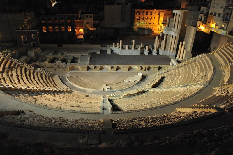 8th September: Roman Theatre in Cartagena moonlight tour