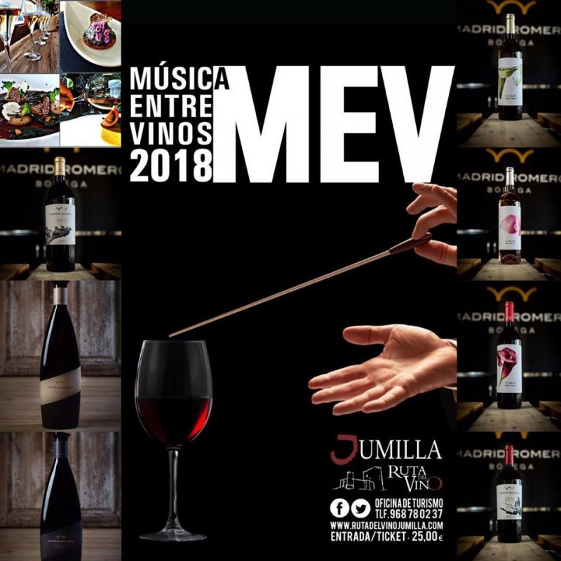 <span style='color:#780948'>ARCHIVED</span> - 16th June to 28th July: Música entre Vinos in Jumilla