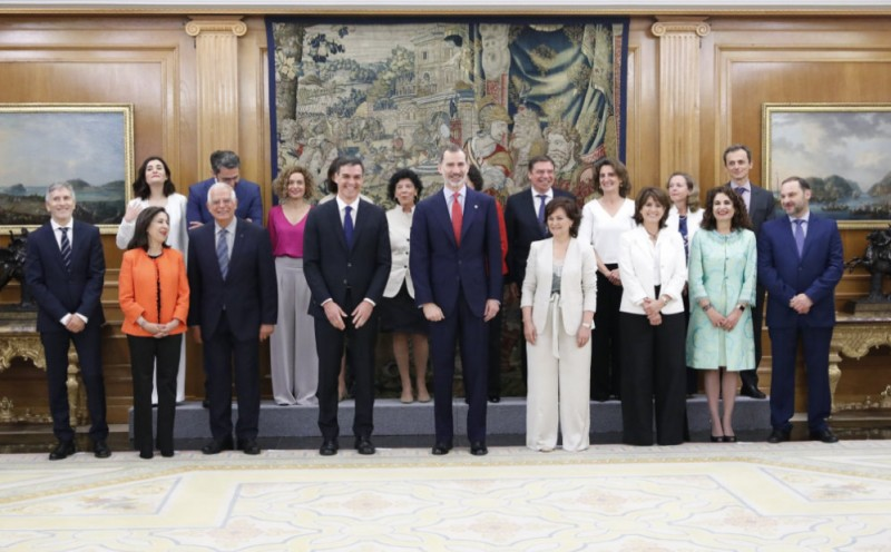The new Spanish cabinet is the most feminist in Europe!