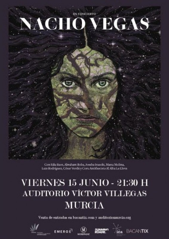 15th June Nacho Vegas at the Auditorium Victor Villegas