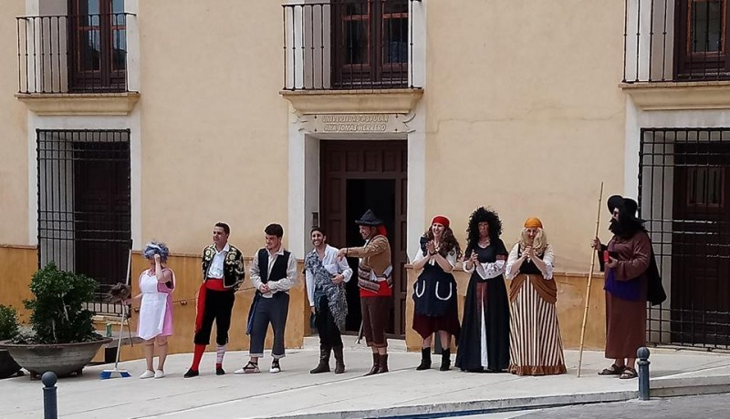 17th June FREE guided theatrical tour of historical Jumilla