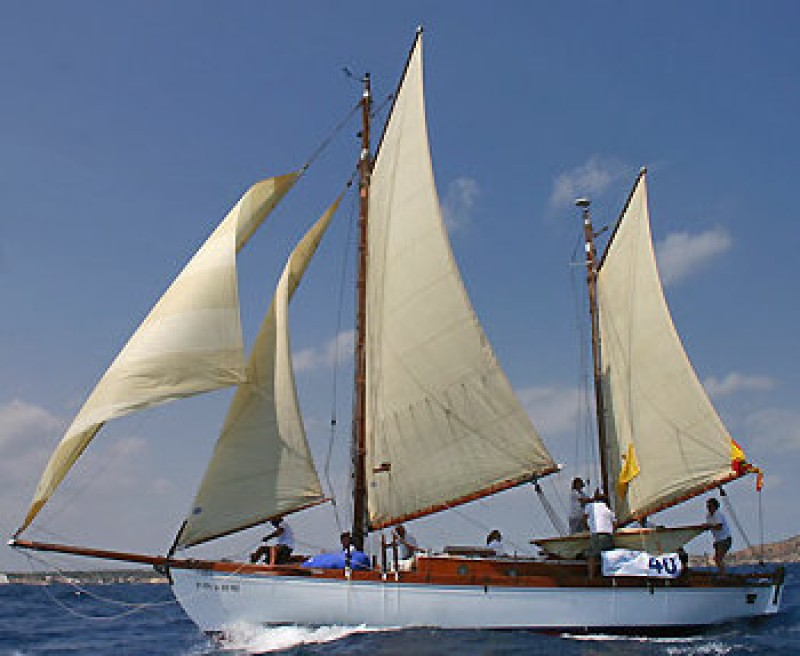 <span style='color:#780948'>ARCHIVED</span> - Spanish Civil War spy boat to take part in Mar Menor Classic Sailing Regatta
