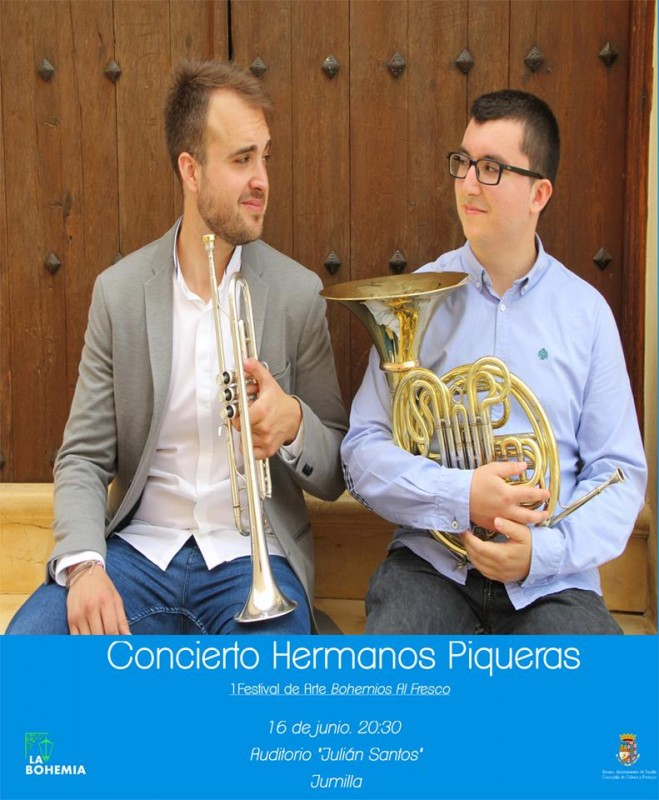 16th June Free concert and exhibition inauguration in Jumilla