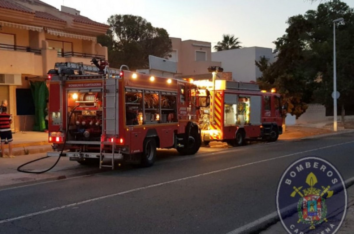None hurt in La Azohía Chinese store fire
