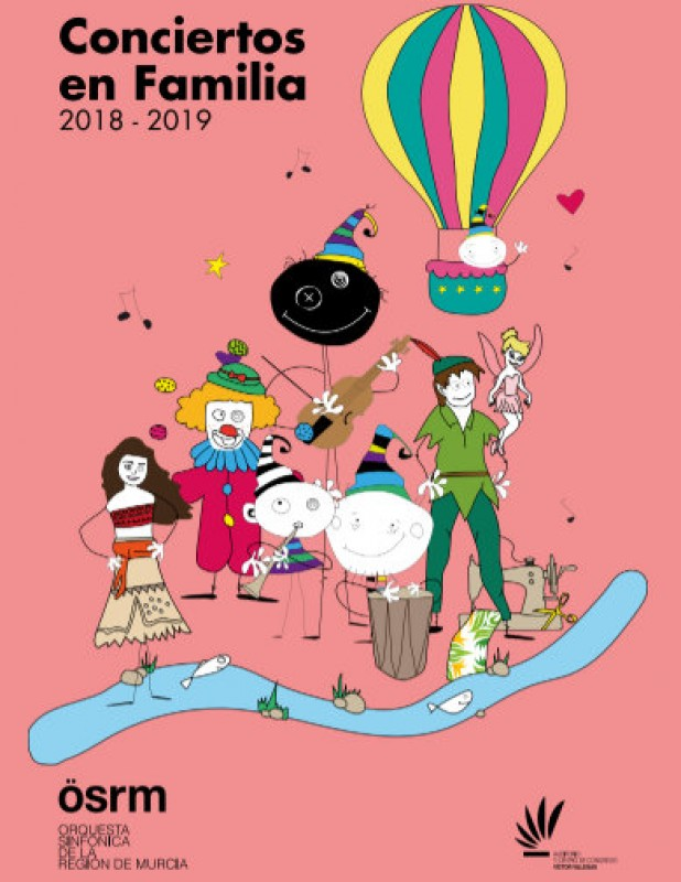 Season tickets for the 2018-19 family concert cycle at the Murcia auditorium