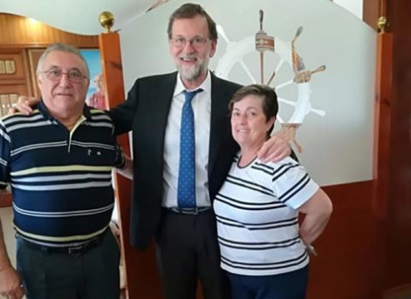 Former Prime Minister goes back to the day job as a property registrar in Santa Pola