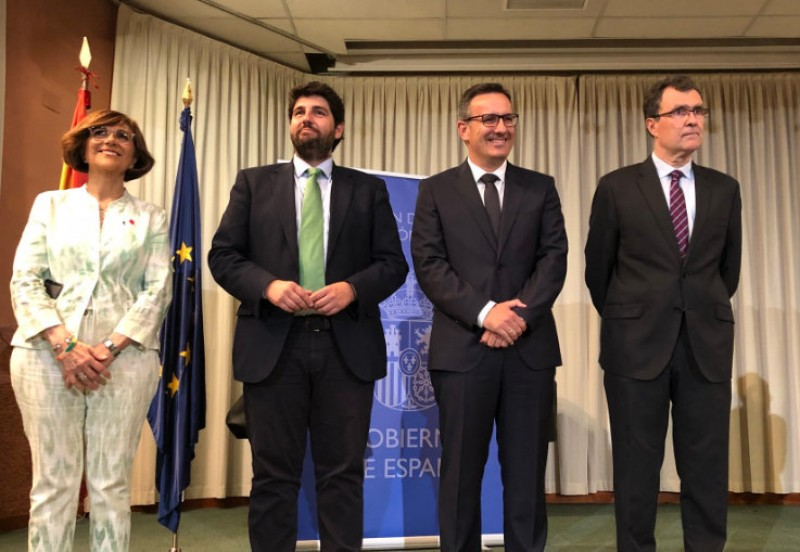 New central government delegate to Murcia prioritizes the Mar Menor and rail services