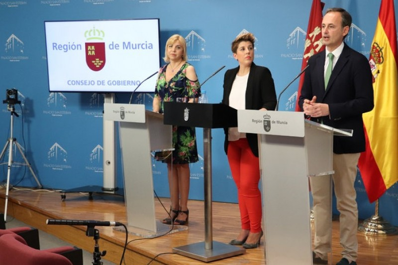 4.1 million euros to promote Murcia to coincide with the opening of Corvera airport