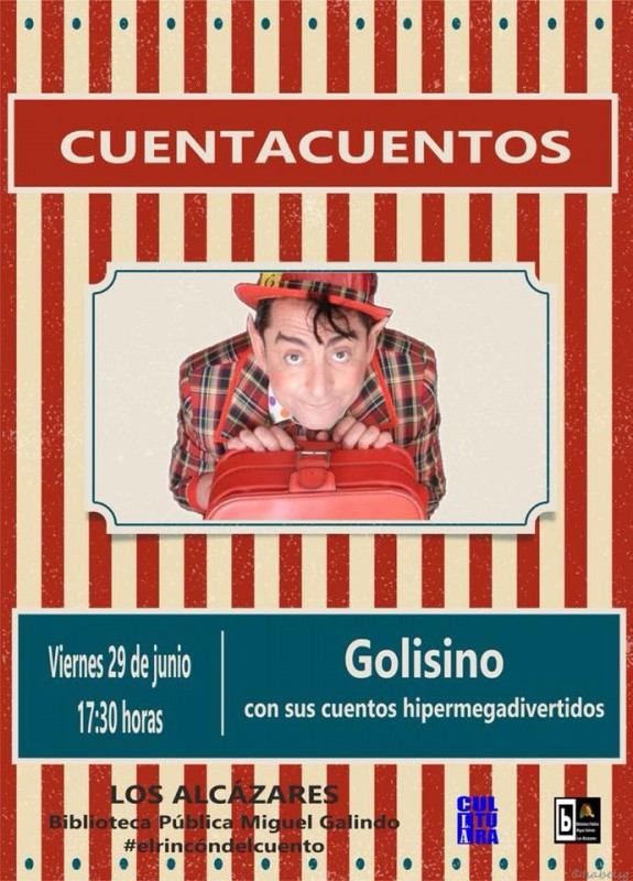 29th June Free storytelling for children in Los Alcázares