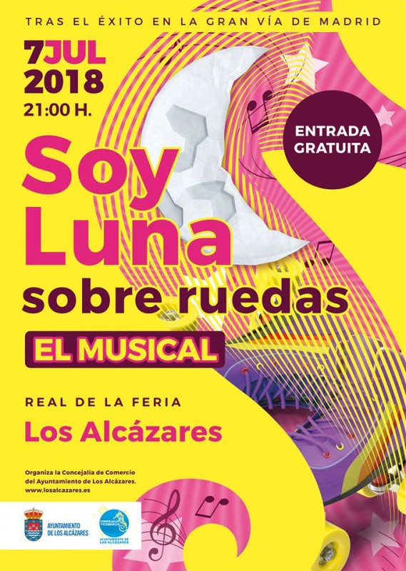 7th July Free musical in Los Alcázares