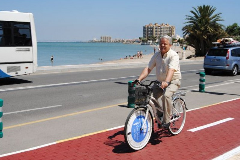 375,000 euros for cycle lanes and footpaths in La Manga