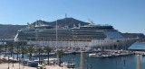 4,000 cruise tourists arrive in Cartagena on the Independence of the Seas