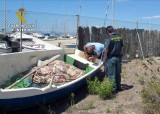 Two unauthorized fishing boats confiscated in Los Urrutias