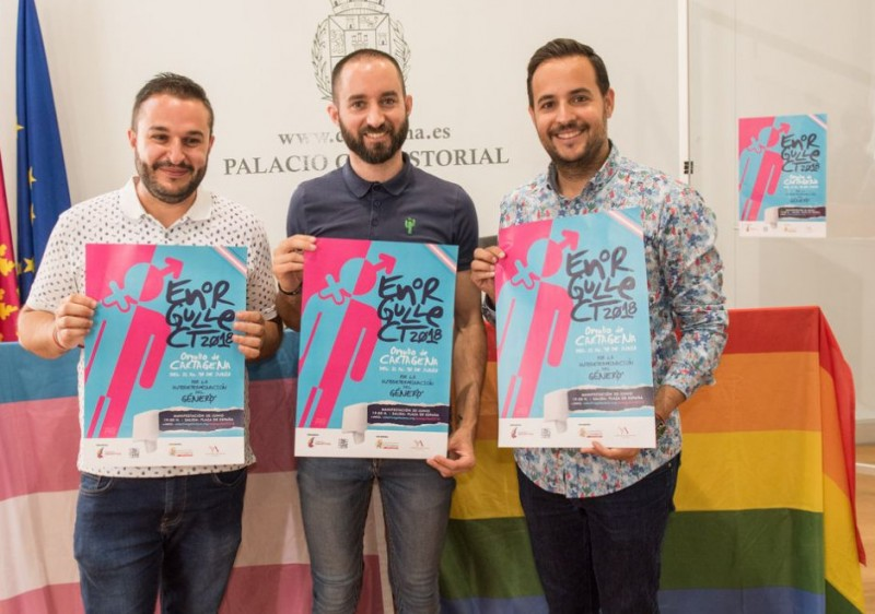 21st to 30th June  LGTBi Pride activities in Cartagena