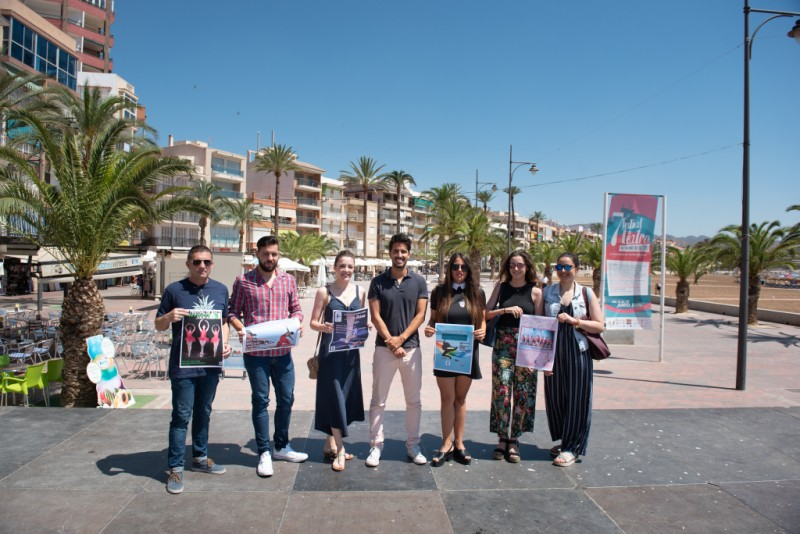 7th and 8th July open-air dance performances in the Puerto de Mazarrón