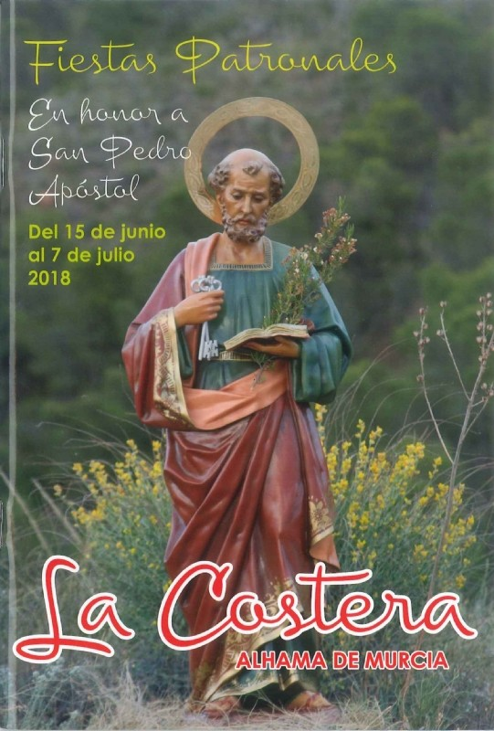 23rd June to 1st July Fiestas of La Costera Alhama de Murcia