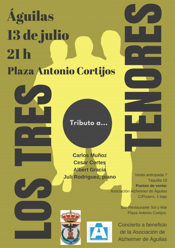13th July Águilas: Tribute to the Three Tenors