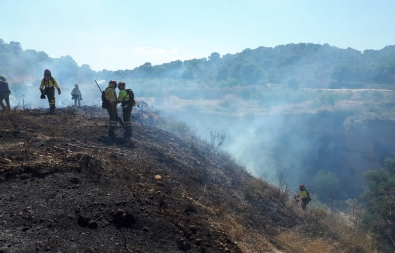 4 hectares burnt as two wild fires break out in central Murcia