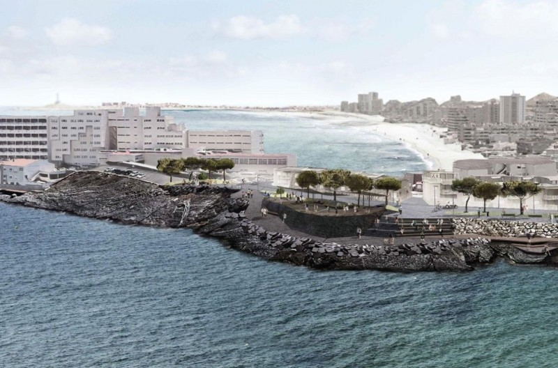 1.2-million-euro Plaza for the Galúa area of La Manga