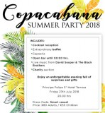 27th July, Copacabana party at La Manga Club