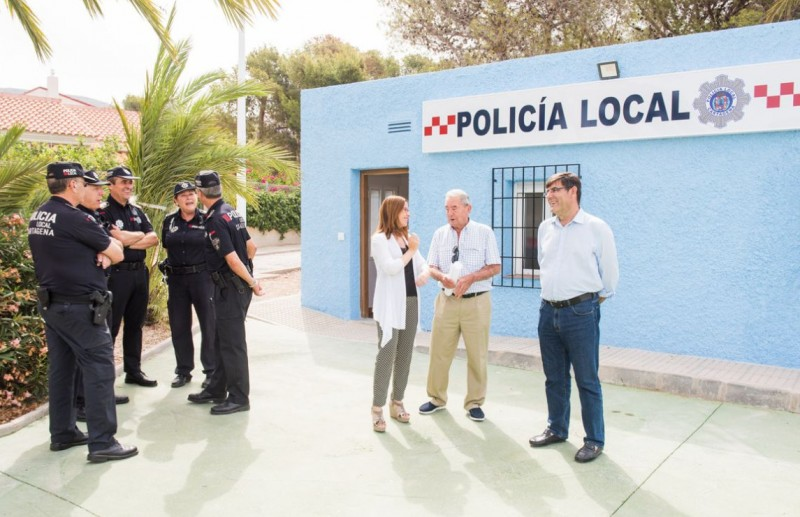 <span style='color:#780948'>ARCHIVED</span> - Special summer police station for La Azohía and Isla Plana