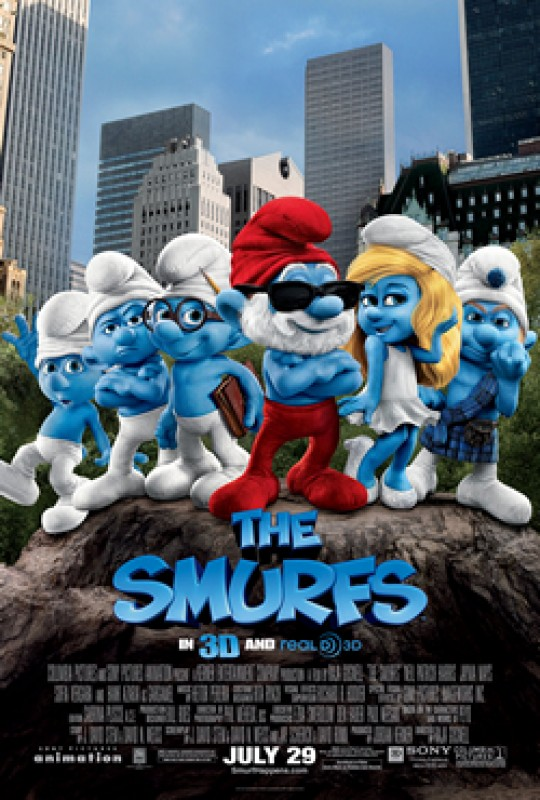 14th August Free open-air cinema in Mar de Cristal: The Smurfs