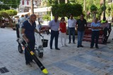 Águilas improves cleaning efficiency with environmentally friendly street cleaner