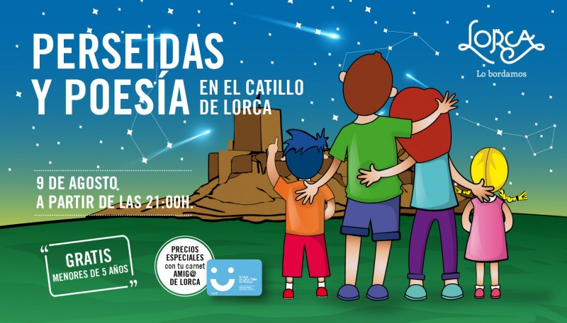 9th August 2018 starwatching on the night of the Perseids in Lorca Castle