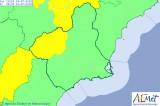 North-west Murcia on yellow heat alert