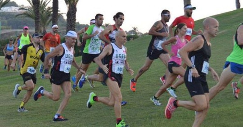 25th August, 7-kilometre run in the Sunset Race at La Manga Club