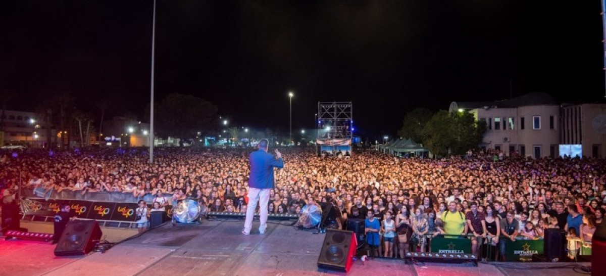 30,000 enjoyed the free Playa Pop event in San Pedro del Pinatar