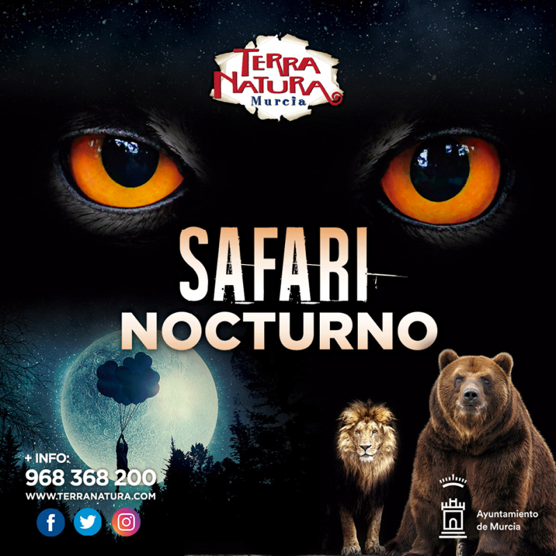 Nocturnal safari tours of Terra Natura Murcia