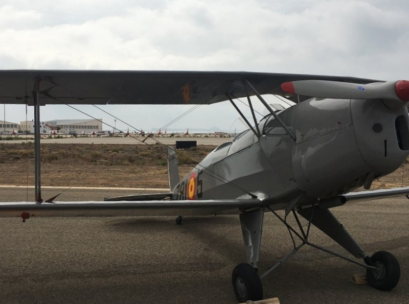 <span style='color:#780948'>ARCHIVED</span> - Historic aircraft could replace commercial flights at San Javier airport
