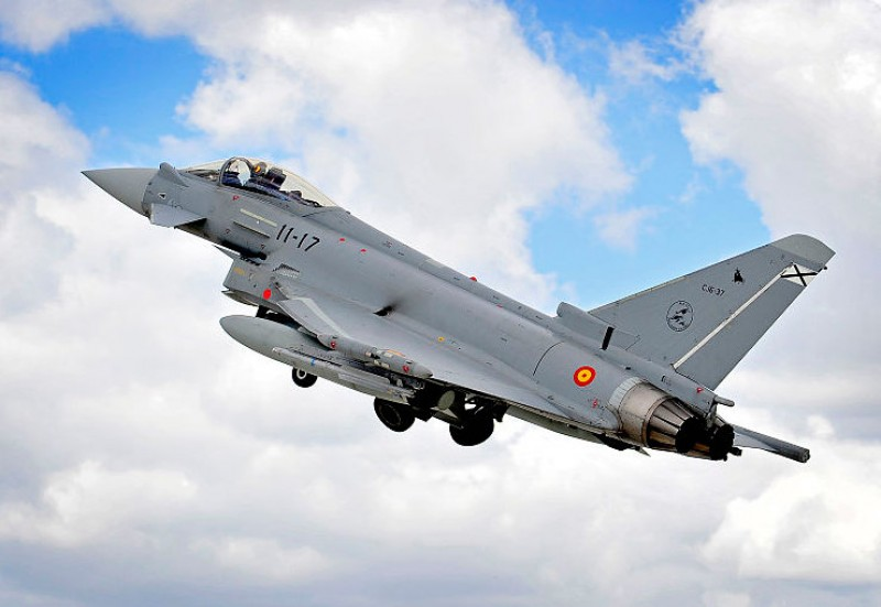 <span style='color:#780948'>ARCHIVED</span> - Spanish Eurofighter accidentally fires missile over Estonia