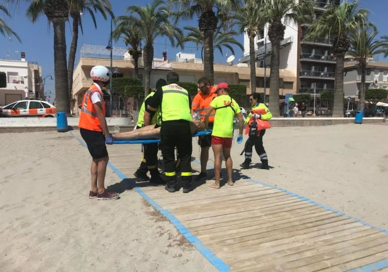 Two deaths in two days at the beaches of Los Alcázares