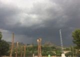 Heavy summer storm in Moratalla sees temperatures fall by 15 degrees