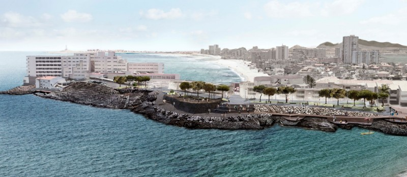 New square and viewing points in La Manga could be ready for summer 2019
