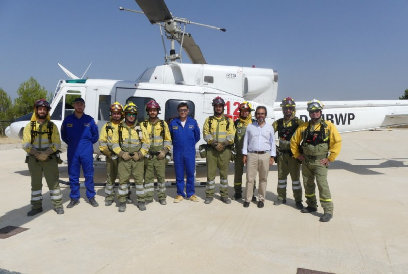 New helicopter added to Murcia forest fire-fighting unit