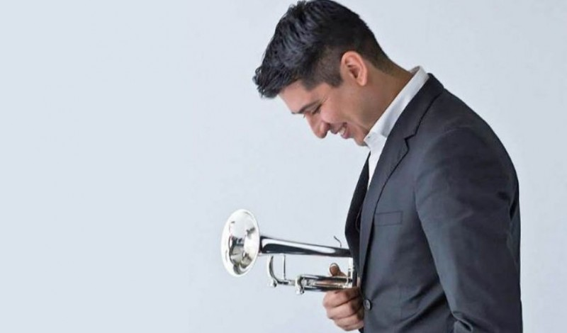21st September, trumpeter Pacho Flores and the OSRM in concert at the Murcia auditorium