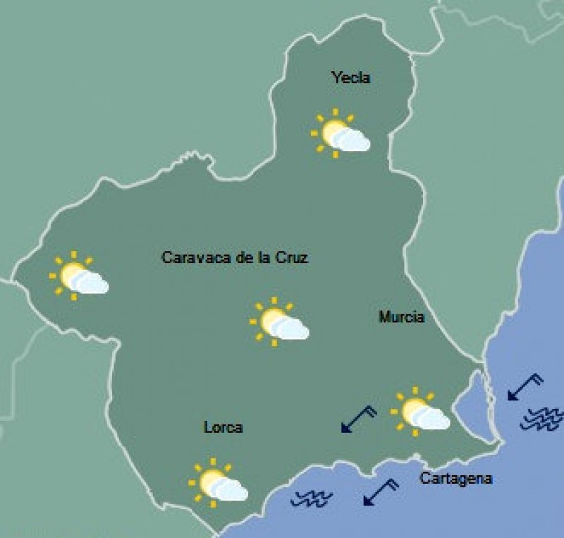 <span style='color:#780948'>ARCHIVED</span> - Molina de Segura the hottest place in Spain on Monday