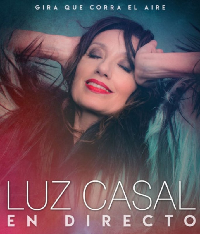7th December, Luz Casal live in concert at the Auditorio Víctor Villegas in Murcia