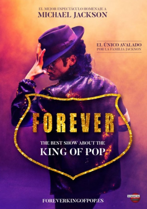 29th and 30th December, Forever, Michael Jackson tribute show at the Murcia auditorium