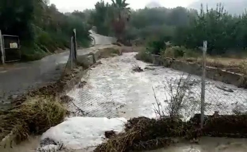 <span style='color:#780948'>ARCHIVED</span> - Widespread storm damage in Alhama and Librilla as hailstones batter Murcia