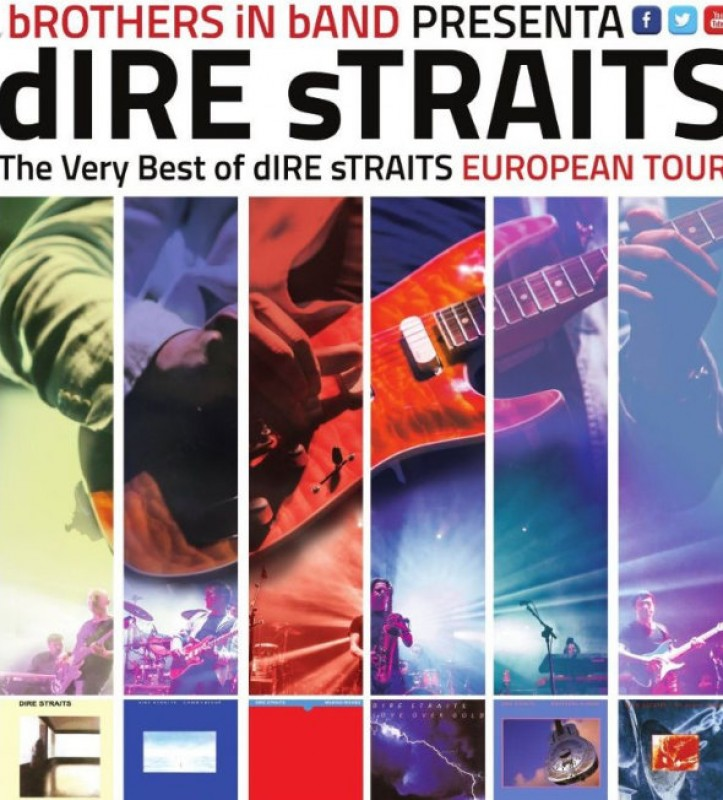 11th January 2019 Brothers in Band: Dire Straits tribute at the Murcia Auditorium