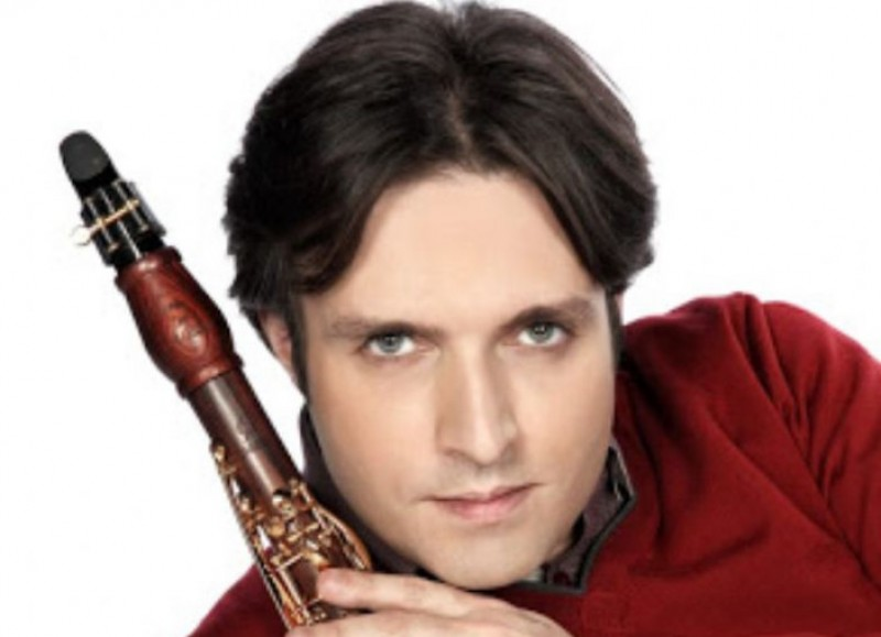 16th February, clarinettist José Franch-Ballester joins the OSRM at the Murcia auditorium