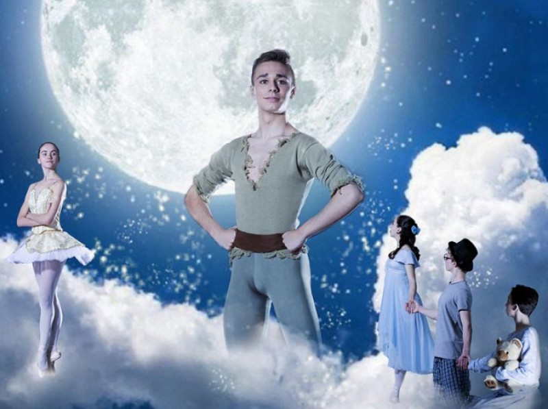 24th February 2019 Peter Pan ballet for children at the Murcia auditorium