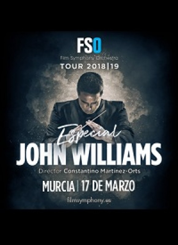 17th March 2019 Film Symphony Orchestra performs scores by John Williams at the Auditorio in Murcia