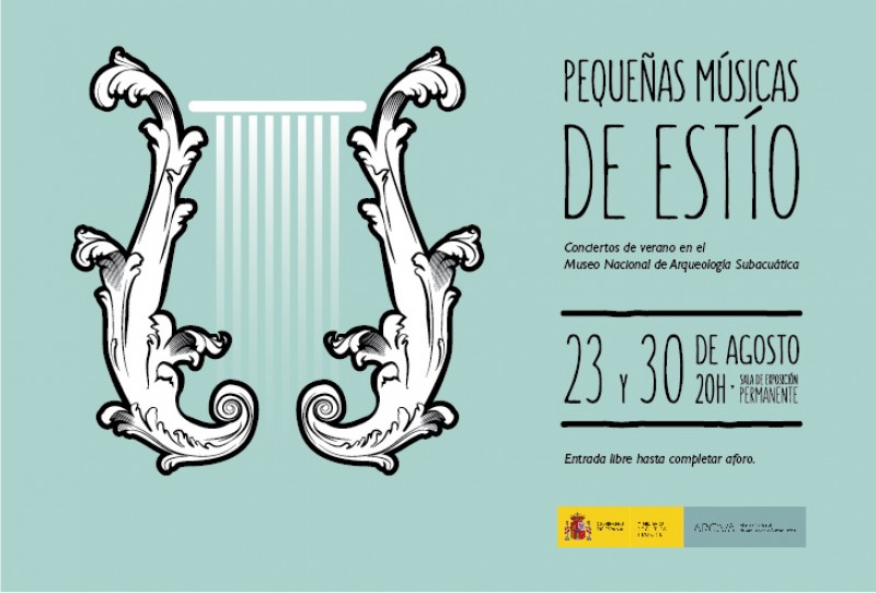 <span style='color:#780948'>ARCHIVED</span> - 23rd and 30th August FREE recitals in the ARQUA Subaquatic Archaeology Museum in Cartagena