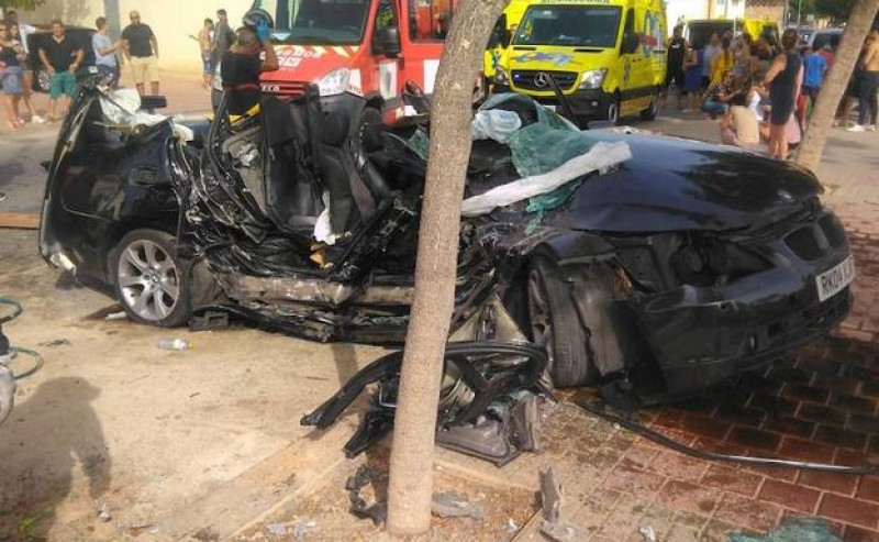 <span style='color:#780948'>ARCHIVED</span> - Nine injured in Cartagena and Torre Pacheco road accidents
